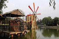 清明上河园的水车
