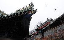 少林寺的屋檐