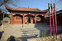 圆融寺的财神殿