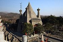 圆融寺的美丽阁楼