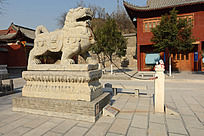 圆融寺的石雕