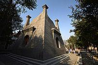 圆融寺的异域风情建筑