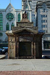 哈尔滨古城堡出口