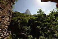 红石峡悠美风光