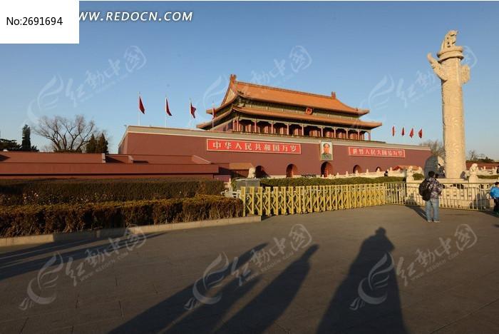 天安门广场图片,高清大图
