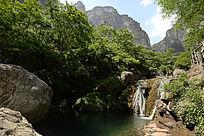 云台山奇景潭瀑峡
