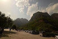 云台山下停车场