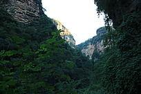 裂谷中的山涧