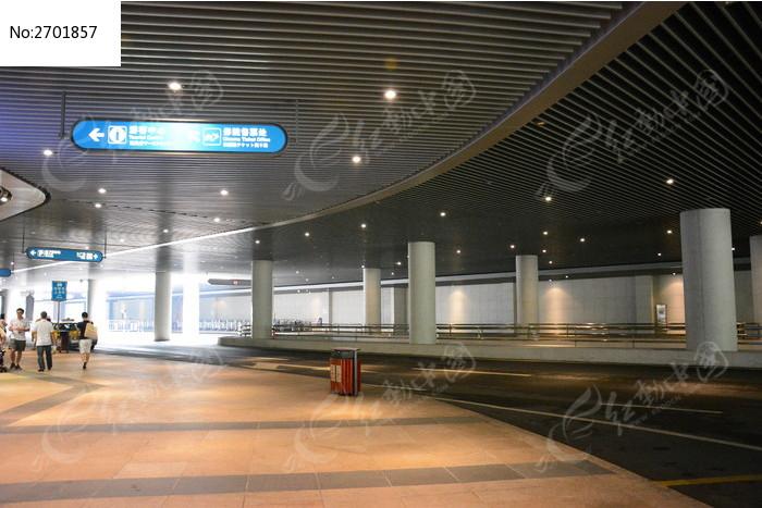 广州塔地下入口图片_建筑摄影图片