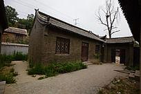 小院建筑特写
