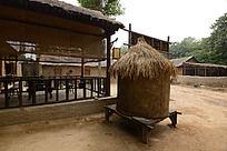 圆形的粮仓