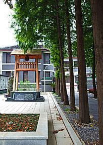 校园文史馆景观