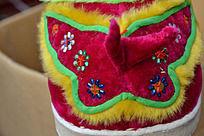 玫红色宝宝鞋