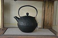 梅花图案的铜水壶