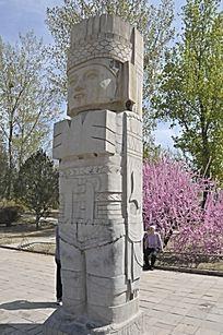 墨西哥土著图腾柱