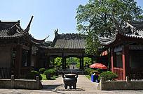 大禹陵庭院