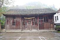 桂林景区的木房子
