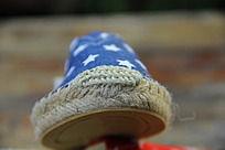 秋款男童布鞋的鞋头