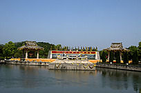 远眺大禹陵祭坛