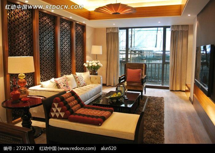 中国古典的客厅图片