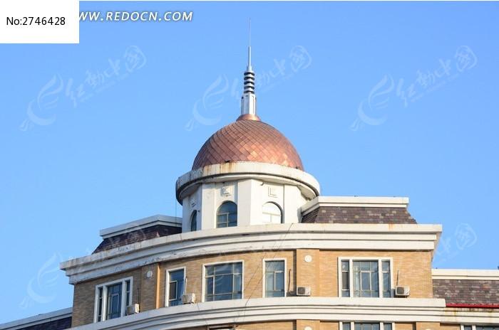欧式建筑塔楼图片_图片