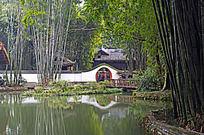 杜甫草堂园林景观