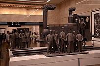 博物馆火车模型