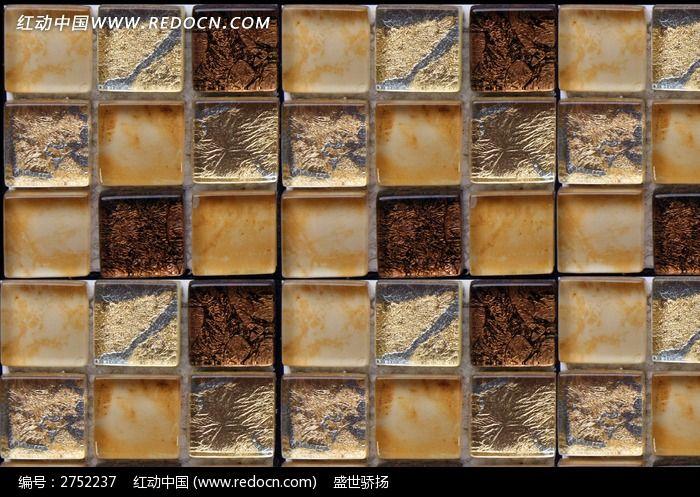 高贵小方格陶瓷马赛克图片