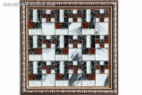 水晶马赛克装饰墙