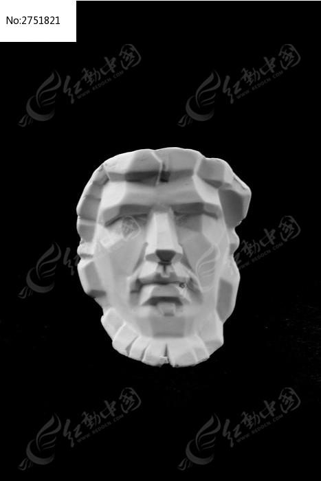 亚历山大 切面像 石膏像