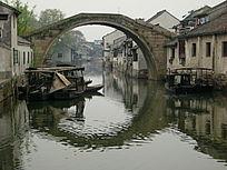 南浔古镇石拱桥