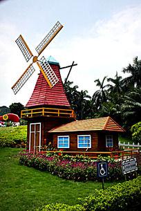 荷兰风车别墅