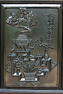 木门雕刻装饰画