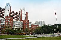 暨南大学国旗教学楼