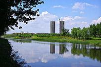 沈北蒲河廊道景观