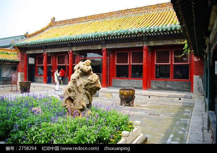 沈阳故宫 后宫 建筑 图片 建筑摄影 图片
