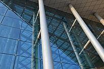 玻璃幕墙及屋顶支柱