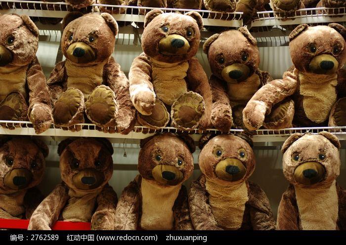 毛绒玩具熊图片