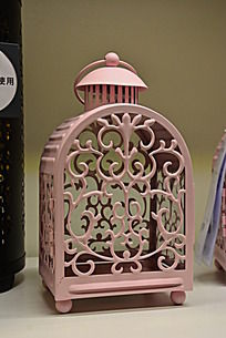 欧式花纹手提蜡烛灯台