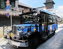 日本川越小江户旅游观光车