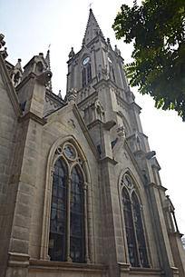 石室圣心大教堂尖顶石塔