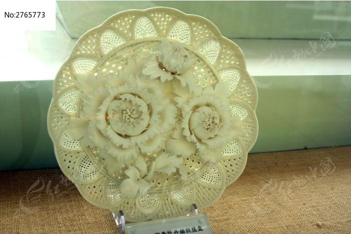 陶瓷盘雕刻图片素材下载(编号:2765773)