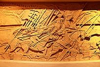 气势恢宏的古代战场场面沙雕墙面