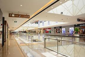 万达广场商场走廊