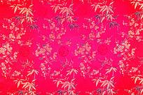 梅花传统绸布 竹 传统吉祥图案 花纹图案 花纹 花边  高雅花纹