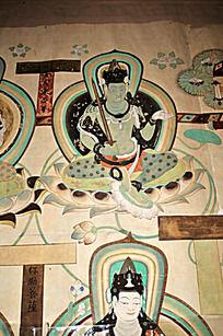 上海世博会的莫高窟虚空藏菩萨像