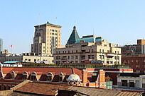 上海特色民居    屋顶特写