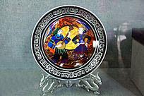 陶瓷盘装饰画