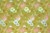 菊花布纹 祥云  传统高贵花纹  传统花纹 高雅花纹   绸缎 丝布 花纹图案 纹理