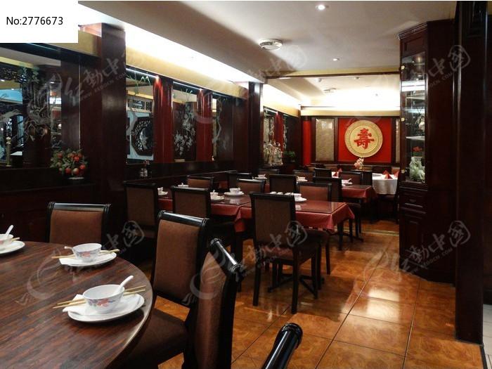 欧洲中国餐厅大厅装修图片